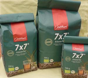 7x7 Kräuter Tee und Cystus Tee