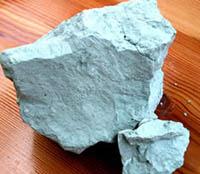 grüne Mineraltonerde - Urzustand