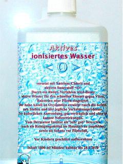sauerstoff aktiv wasser