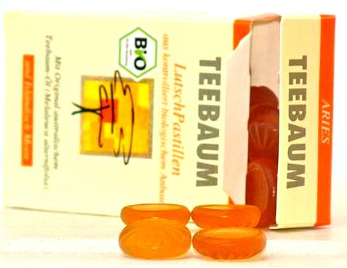 teebaum pastillen